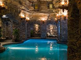The Spa's lap pool.