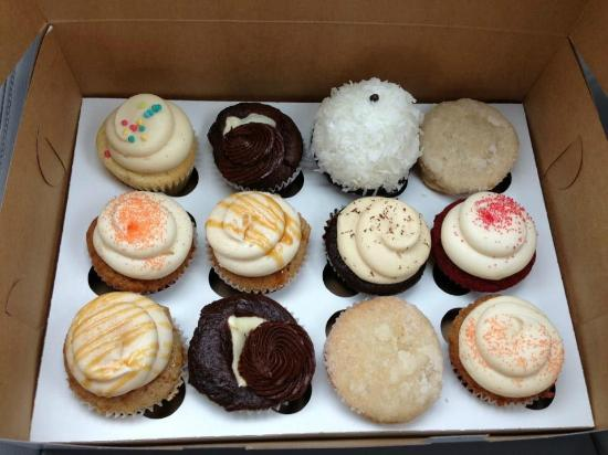 cupcakes from Pearl's Bake Shoppe in Richmond and now in Charlottesville