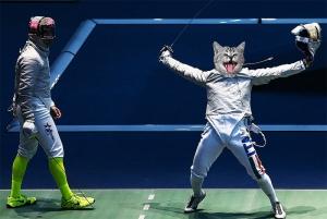 cat-olympics-fencing