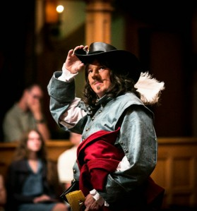 John Harrell as Cyrano at ASC